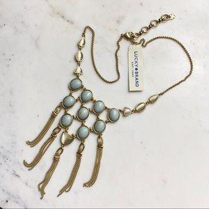 Lucky Brand   Boho Jasper Collar Necklace